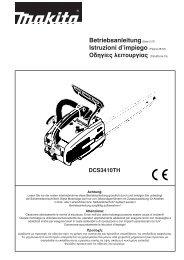 Betriebsanleitung(Seite 2-27) Istruzioni d'impiego (Pagina 28-53 ...