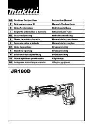 JR180D - Makita