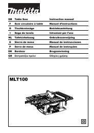 MLT100 - Makita