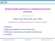 slides - Theory Group