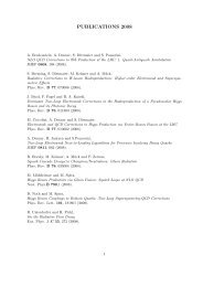 PUBLICATIONS 2008 - Theory Group