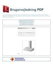 Brugsanvisning ZANUSSI ZHC71X - BRUGERVEJLEDNING