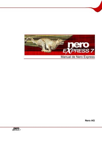 manual de nero express 7 sample user manual u2022 rh userguideme today Nero 7 Essentials Nero 7 Ultra Edition