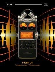 PCM-D1 - Sony