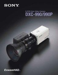 DXC-990/990P - Sony