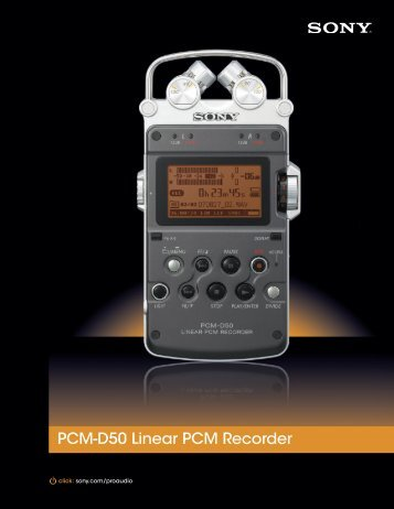 PCMD50 - Sony