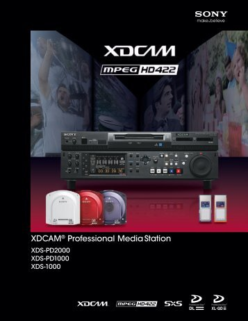 XDCAM Professional Media Station - Sony
