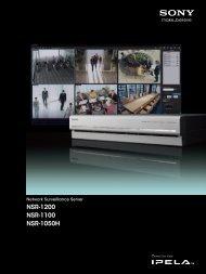 Network Surveillance Server - Sony