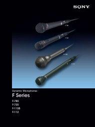 F Series - Sony