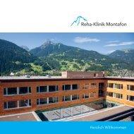 Herzlich Willkommen - Reha-Klinik Montafon