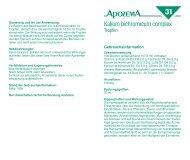 Apozema Nr31 Sinusitis, page 1 @ Preflight - Apomedica