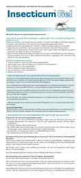 Insecticum Gel - Apomedica