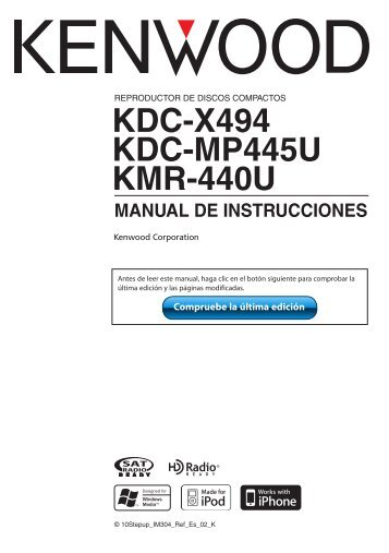kdc x494 kdc mp445u kmr 440u manual de instrucciones kenwood?quality\=85 kenwood mp445u wiring diagram kenwood home stereo \u2022 wiring kdc-222 wiring at nearapp.co