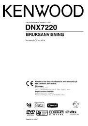 DNX7220 - Kenwood