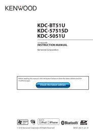 Downloading - Kenwood