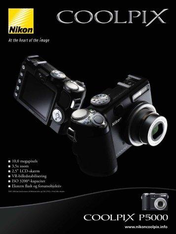 "10,0 megapixels 3,5x zoom 2,5"" LCD-skærm VR ... - Nikon Europe"