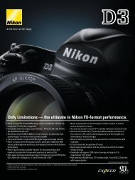 Defy Limitations –– the ultimate in Nikon FX-format performance.