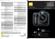 DIGITAL SLR CAMERA - Nikon
