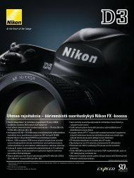 Uhmaa rajoituksia – äärimmäistä suorituskykyä Nikon FX -koossa