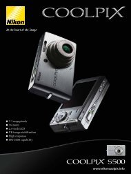 Download the brochure - Nikon