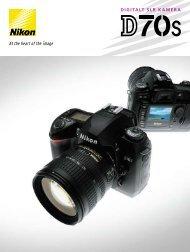 DIGITALT SLR K AMER A - Nikon