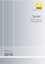 Tarief - Nikon