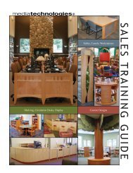 Sales Training Guide.indd - Library and Classroom Furniture ...