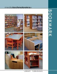 Revised Bookmark Catalog 3-09 - Library and Classroom Furniture ...