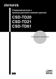 CSD-TD20 CSD-TD21 CSD-TD61