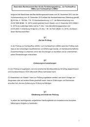 (HWK) / Fachkaufmann (HWK)