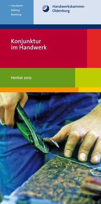 Konjunkturumfrage Herbst 2012 - Aktuelles