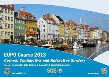 EUPO Course 2013