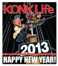 January 3, 2013 Issue of KONK Life - KONK Network