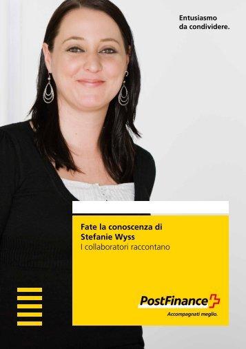 Fate la conoscenza di Stefanie Wyss – I collaboratori raccontano