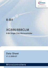 8-Bit XC886/888CLM