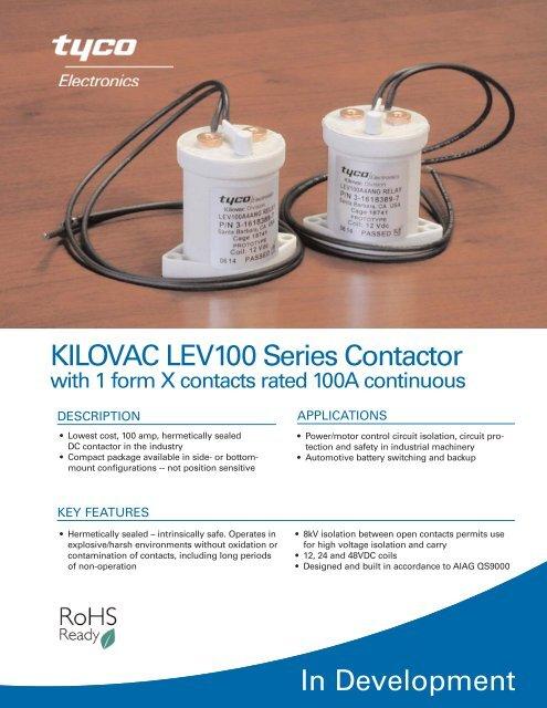 KILOVAC LEV100 Series Contactor
