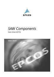 SAW Components