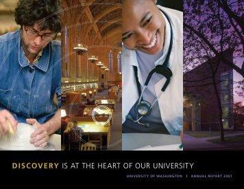 University of Washington Annual Report 2007 - Icompendium