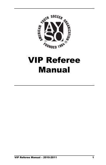 AYSO Sample Advanced Referee Exam