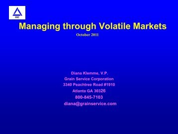 PDF of Diana Klemme Slides