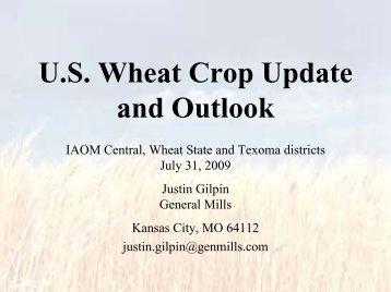 U.S. Hard Red Winter Wheat Crop Progress and Outlook