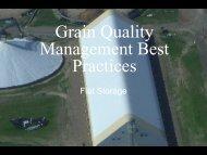 Grain Quality Management Best Practices