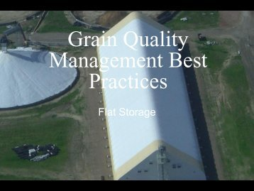 Grain Quality Management Best Practices