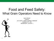 Food and Feed Safety: