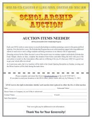 SCHOLARSHIP AUCTION