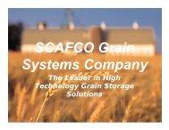 SCAFCO Grain Systems Company