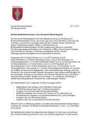 Markterkundung inkl. Anlage 1 - Breitband.NRW