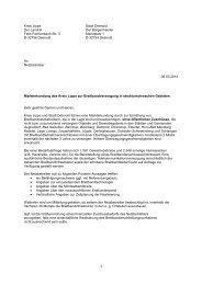 Markterkundung Restgebiet Kreis Lippe - Breitband.NRW