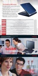 Satellite 5200 series - Toshiba