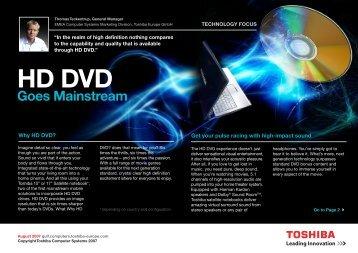 HD DVD - Toshiba